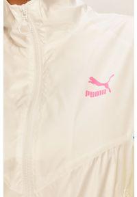 Biała kurtka Puma bez kaptura