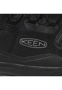 keen - Trekkingi KEEN - Tempo Flex Wp 1025294 Triple Black. Kolor: czarny. Materiał: materiał. Szerokość cholewki: normalna. Sport: turystyka piesza