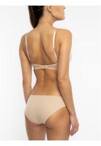 Beżowy biustonosz push up Calvin Klein Underwear