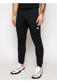 Jack & Jones - Jack&Jones Spodnie dresowe Will Air Sweat Noos 12184970 Czarny Regular Fit. Kolor: czarny. Materiał: dresówka