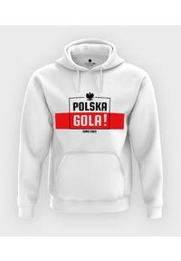 MegaKoszulki - Bluza z kapturem Polska gola!. Typ kołnierza: kaptur