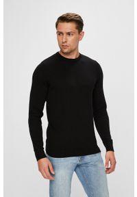 Czarny sweter Jack & Jones casualowy, na co dzień