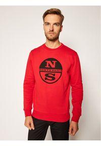 North Sails Bluza Graphic 691542 Czerwony Regular Fit. Kolor: czerwony