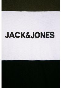 Wielokolorowy t-shirt Jack & Jones casualowy, na co dzień, z nadrukiem