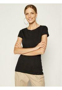 Marc O'Polo T-Shirt B01 2261 51115 Czarny Slim Fit. Typ kołnierza: polo. Kolor: czarny