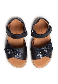 Niebieskie sandały Froddo z aplikacjami, na co dzień