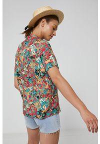 medicine - Medicine - Koszula Commercial. Okazja: na co dzień. Materiał: tkanina. Długość rękawa: krótki rękaw. Długość: krótkie. Styl: casual