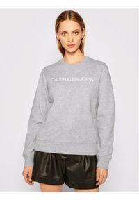 Calvin Klein Jeans Bluza J20J209761 Szary Regular Fit. Kolor: szary