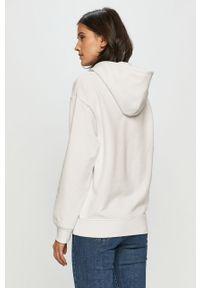 Biała bluza Levi's® na spotkanie biznesowe, z kapturem, biznesowa, z nadrukiem