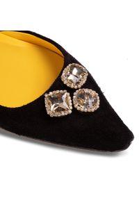 Czarne sandały Hego's Milano