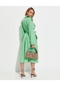 THE ANDAMANE - Zielony trencz Giulia. Kolor: zielony