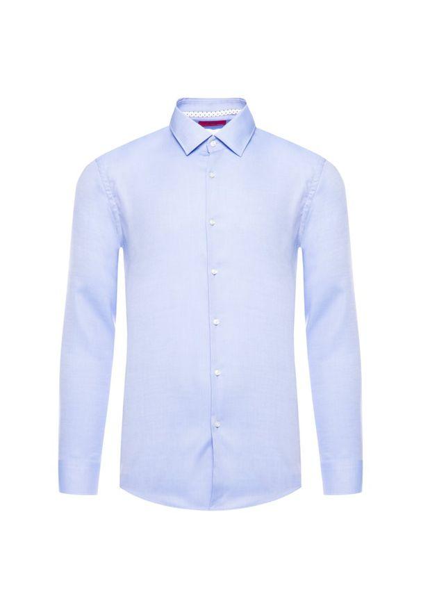 Niebieska koszula Hugo