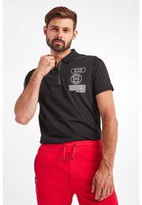 Karl Lagerfeld - POLO KARL LAGERFELD. Typ kołnierza: polo. Wzór: nadruk. Styl: klasyczny