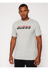 Guess T-Shirt Regular Tee U0BA47 K6YW1 Szary Regular Fit. Kolor: szary