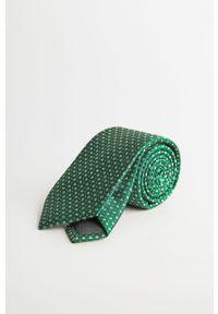Zielony krawat Mango Man