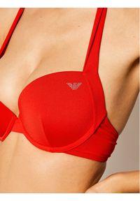 Czerwone góra bikini Emporio Armani #5