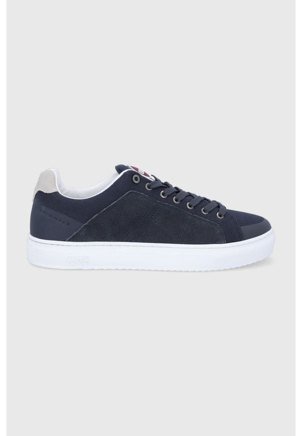 Colmar - Buty. Nosek buta: okrągły. Zapięcie: sznurówki. Kolor: niebieski. Materiał: guma, syntetyk, materiał, skóra ekologiczna, zamsz. Szerokość cholewki: normalna