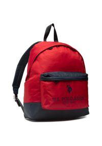 Czerwona torba na laptopa U.S. Polo Assn