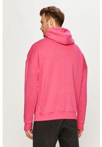 Reebok - Bluza. Okazja: na co dzień. Kolor: różowy. Materiał: dzianina. Wzór: gładki. Styl: casual