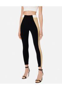 Elisabetta Franchi - ELISABETTA FRANCHI - Modelujące spodnie z wysokim stanem. Stan: podwyższony. Kolor: czarny