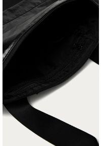 Czarna shopperka Nike duża, na ramię