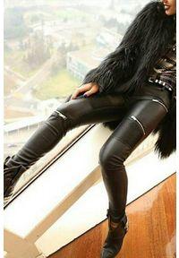 Czarne spodnie IVET eleganckie
