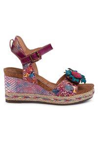 Fioletowe sandały Laura Vita