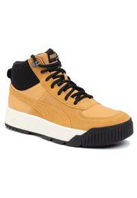 Puma Sneakersy Tarrenz Sb 370551 02 Brązowy. Kolor: brązowy