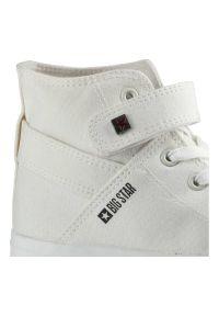 Big-Star - Trampki BIG STAR FF274579 Biały. Wysokość cholewki: za kostkę. Zapięcie: rzepy. Kolor: biały. Materiał: jeans, materiał, guma. Szerokość cholewki: normalna