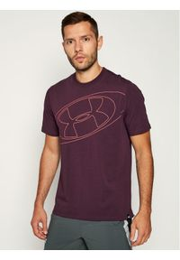 Fioletowy t-shirt Under Armour