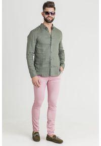 Spodnie Armani Exchange w kolorowe wzory