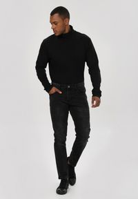 Czarne jeansy Born2be #7