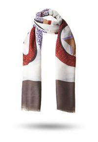 Chusta Liu Jo na zimę, w kolorowe wzory