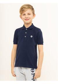 Niebieski t-shirt polo Timberland polo