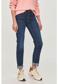 Niebieskie jeansy Levi's® biznesowe, gładkie, na spotkanie biznesowe