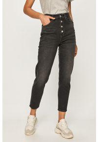 Szare jeansy loose fit Tommy Jeans z podwyższonym stanem