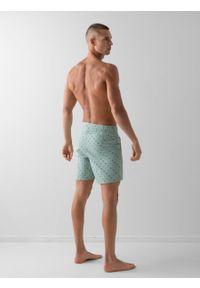 outhorn - Spodenki plażowe męskie. Materiał: poliamid, materiał. Długość: krótkie. Wzór: nadruk