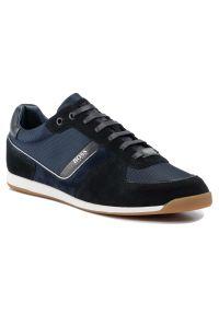 Niebieskie sneakersy BOSS