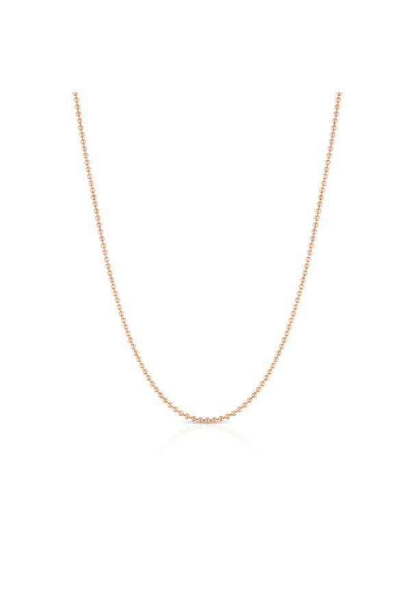 W.KRUK Wspaniały Łańcuszek Srebrny - srebro 925 - SCR/LS001R. Materiał: srebrne. Kolor: srebrny. Wzór: ze splotem