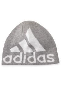Szara czapka zimowa Adidas