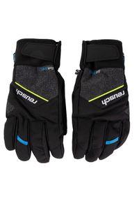 Czarna rękawiczka sportowa Reusch narciarska