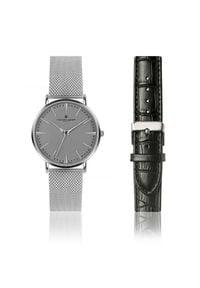 Frederic Graff Silver Eiger FGS006. Rodzaj zegarka: analogowe. Materiał: skóra. Styl: klasyczny