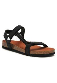 Czarne sandały Scholl