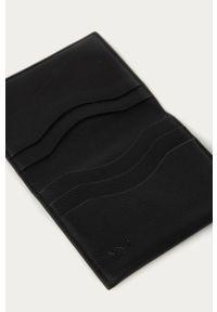 Czarny portfel Mango Man #4