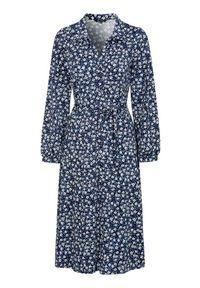 Happy Holly Sukienka dżersejowa Linda niebieski we wzory female niebieski/ze wzorem 52/54. Kolor: niebieski. Materiał: jersey