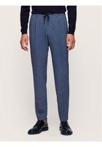 Niebieskie spodnie BOSS