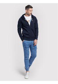 Vistula Bluza Glisson XA1210 Granatowy Regular Fit. Kolor: niebieski