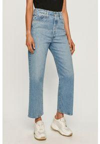 Levi's® - Levi's - Jeansy. Okazja: na spotkanie biznesowe. Stan: podwyższony. Kolor: niebieski. Styl: biznesowy