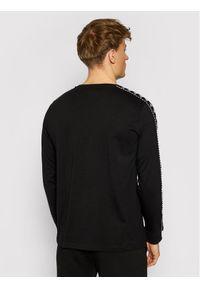 Kappa Longsleeve Iantan 309003 Czarny Regular Fit. Kolor: czarny. Długość rękawa: długi rękaw
