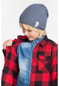 Wiosenna czapka chłopięca PaMaMi - Czerwony. Kolor: czerwony. Materiał: bawełna, elastan. Sezon: wiosna